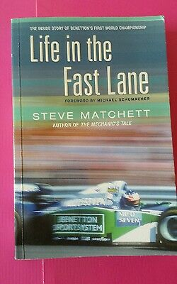 michael schumacher book life in the fast lane