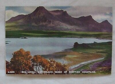 Vintage J.B.White 'The Best Of All Series' POSTCARD - BEN LOYAL, SUTHERLAND