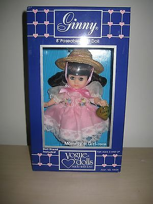"""Vogue Ginny Doll """"mommy's Girl"""" 1986 Brunette Adorable  New In Box"""