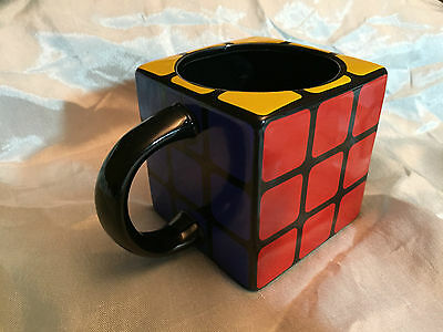 Collectable Official Rubik's Cube Mug - Perfect Condition