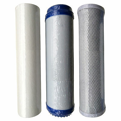 HMA Filter Cartridge Set for Heavy Metal Reduction including KDF/GAC filter