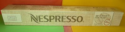 Nespresso 2017 Selection Vintage 2014 Coffee 1 Sleeve Colombia New Limited,new