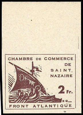 Dt. Bes. II. WK St. Nazaire Nr. 2 PU OR  (A1730005960)