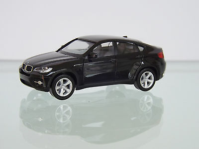 herpa 024037 002 1 87 bmw x6 schwarz neu in ovp eur 12. Black Bedroom Furniture Sets. Home Design Ideas