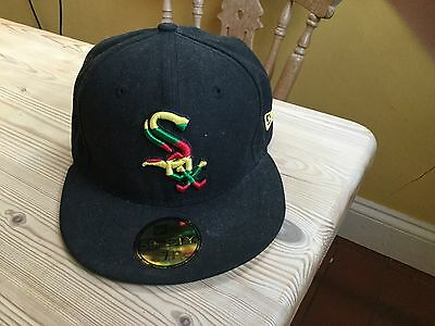 New Era Chicago Sox back fitted cap 7 1/8 59FIFTY