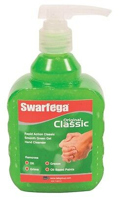 Deb Swarfega Home Workshop Garage Handwash Cleaner Pump Bottle- 450ml - Original