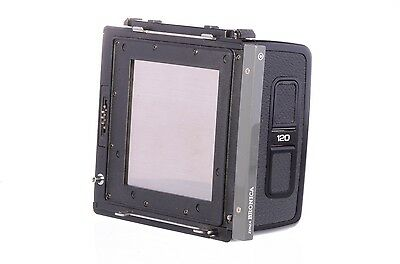 Bronica 120 6x6 SQAi back, almost mint
