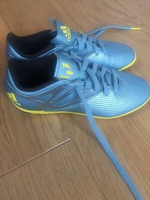 Boys Messi Astro Turf Trainers Size 4