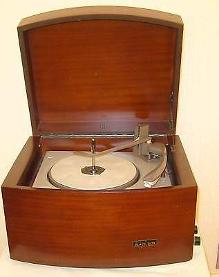 Pye Black Box Record Player In Excellent Condition.
