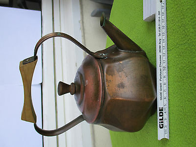 Nachlass antike Kupferkanne ancient copper pot