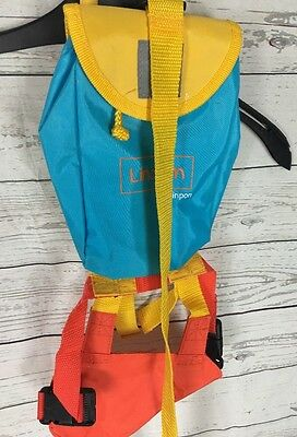 Baby Toddler Lindam Back Pack Reins Smoke Free Home Safety Bright Colour Unisex