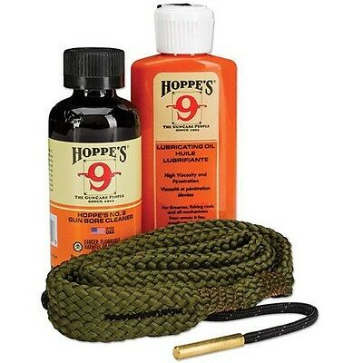 New! Hoppes 40 Caliber, 10mm Pistol Cleaning Kit,Clam Easy to Use 110040