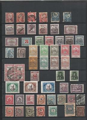 Hungary Collection Early To Late On 6 Pages