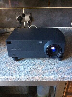 NEC 550 Lumen portable LCD Projector With Case