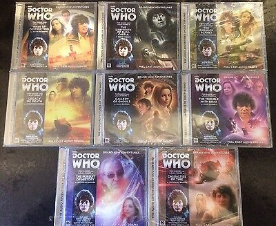 Doctor Who Fourth Doctor Adventures 5.1-5.8 Bundle Big Finish