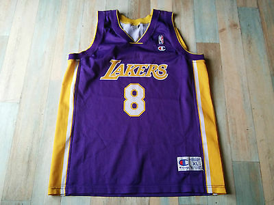 Maillot BASKET BALL CHAMPION LAKERS N°8 BRYANT TAILLE/XL/D7 TBE