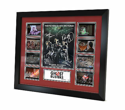 Ghostbusters - Signed Photo - Movie Memorabilia - Framed - Limited Edition - COA