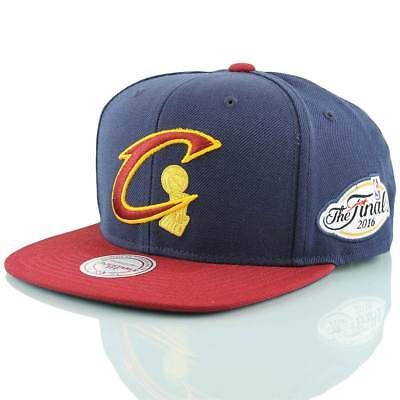 Mitchell & Ness Cleveland Cavaliers 2-Tone NBA Cap /w 2016 Finals Patch