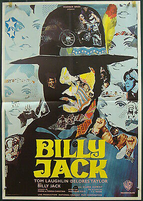 Billy Jack-Tom Laughlin-Martial Art-Art By Iaia-French (24x31 inch)