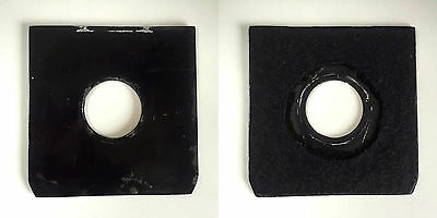 Linhof Fit - PLAIN Lens board 33mm - METAL  *In Used Condition*