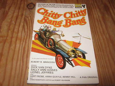 CHITTY CHITTY BANG BANG BOOK OF THE FILM colour photos excellent