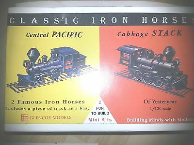 Glencoe Classic Iron Horses Central Pacific and Cabbage Stack 3602