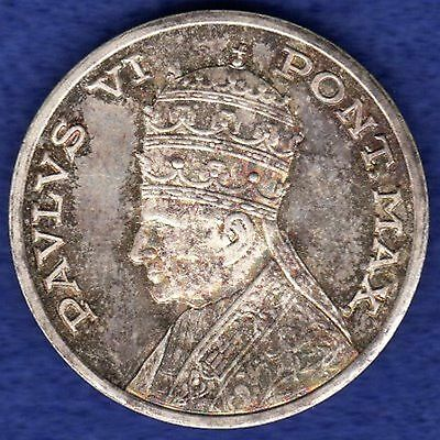 Vatican, Pope Paul VI, Silver Medal, Choice Condition (Ref. c0623)