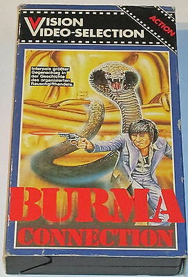 Vision Video 3028 - Burma Connection - VHS/Action/Pappe