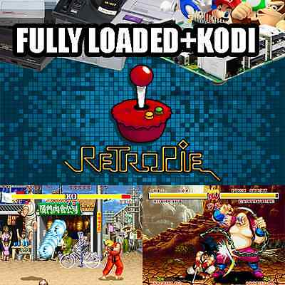 Retro Arcade Machine Raspberry PI3, A Whopping 128GB Fully Loaded + KODI