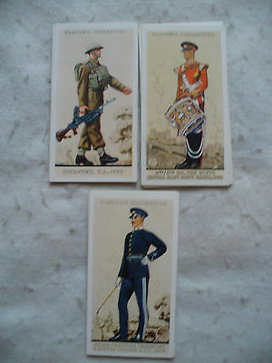 Cigarette Cards Players Uniforms Of The Territorial Army Full Set