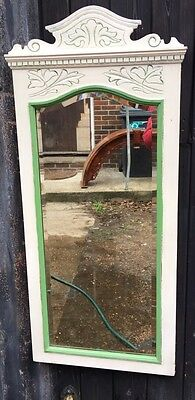 Edwardian Painted Mirror