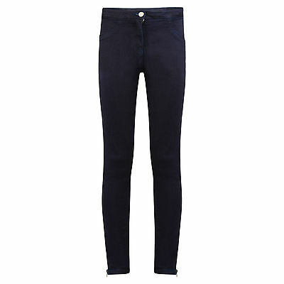 Girls Jeans Ex Uk Store Dark Navy Jeans 9-16 Years Brand New