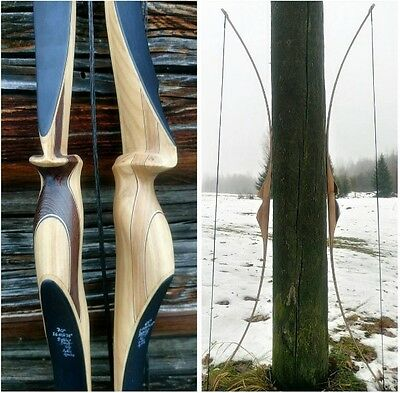 traditional longbow 26# @28'' ambidextrous 70'' flatbow