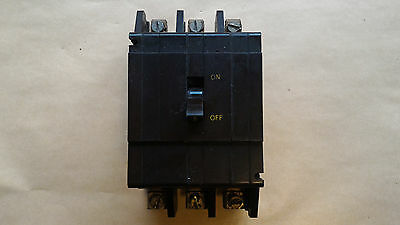 Crabtree 5 Amp Triple Pole 3 Phase Mcb Breaker C50 Old Style 5A C-53