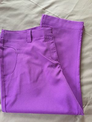 ladies callaway golf trousers size 16 & top size xl