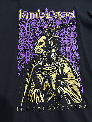 Lamb Of God The Congregation Fan Club T Shirt 2006 or 2007 X-Large