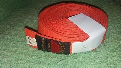 orange belt , martial arts 280cm