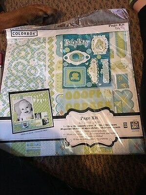 Scrap booking Lot Prefect For Baby Boy!!