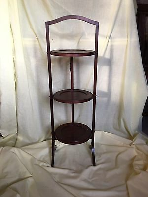 Lovely Victorian Style Wooden Cake Stand