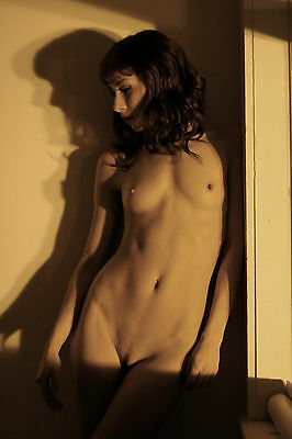 8 x 10 Fine Art NUDE female model naked Color photo, erotic art! Signed!!
