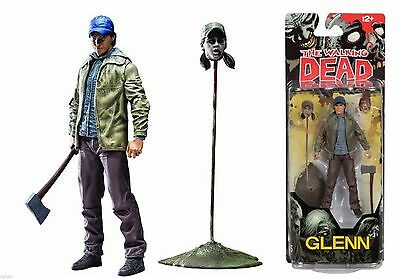 THE WALKING DEAD COMIC SERIES 5 GLENN ACTION FIGURE - McFARLANE