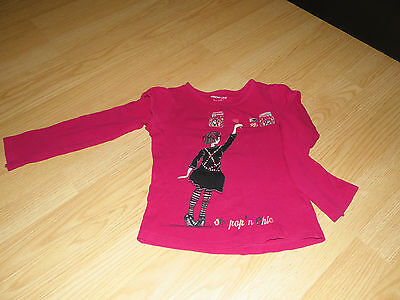 t-shirt orchestra fille manche longue taille 6 ans