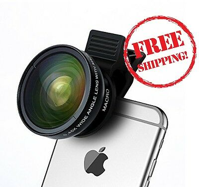Accessories Cell Phone Camera Lens for iPhone Samsung Galaxy Smartphone Tablet