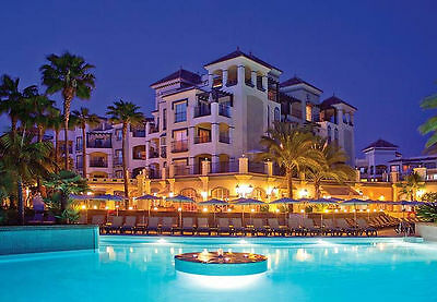 5* Marriott Playa Andaluza Beach Resort Costa Del Sol 12 -19 AUGUST 2017