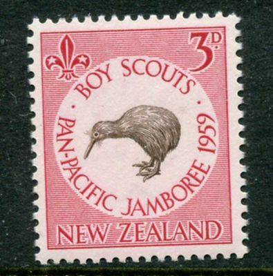 New Zealand: 1959 Pan-Pacific Scout Jamboree 3d stamp SG771 MNH YY260