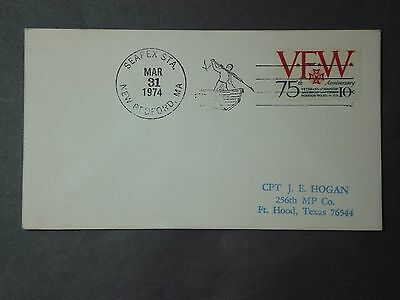 Whaling Cover SEAPEX Pictorial Cancel, 1974