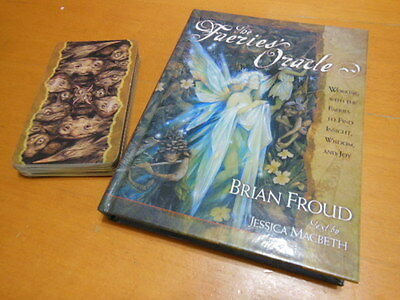 Brian Froud Labyrinth Faerie Fantasy Fairy Tarot Oracle & Hardcover Book set