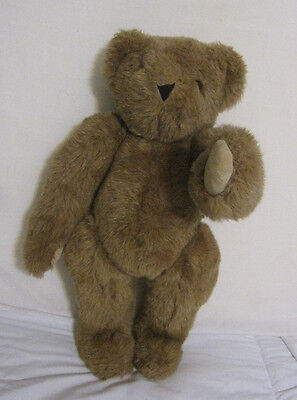 """Vermont Teddy Bear Co.  17"""" Fully Jointed Light Brown"""