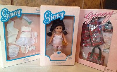 Vogue Ginny Dress Me Doll Plus Time For Tennis And Travel Mates Sets New In Box!