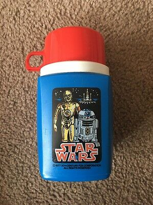 Vintage Star Wars Lunch Box Thermos Dated 1977